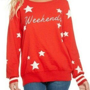 Chaser Clothing Sweater 'Weekends' Sweater Small